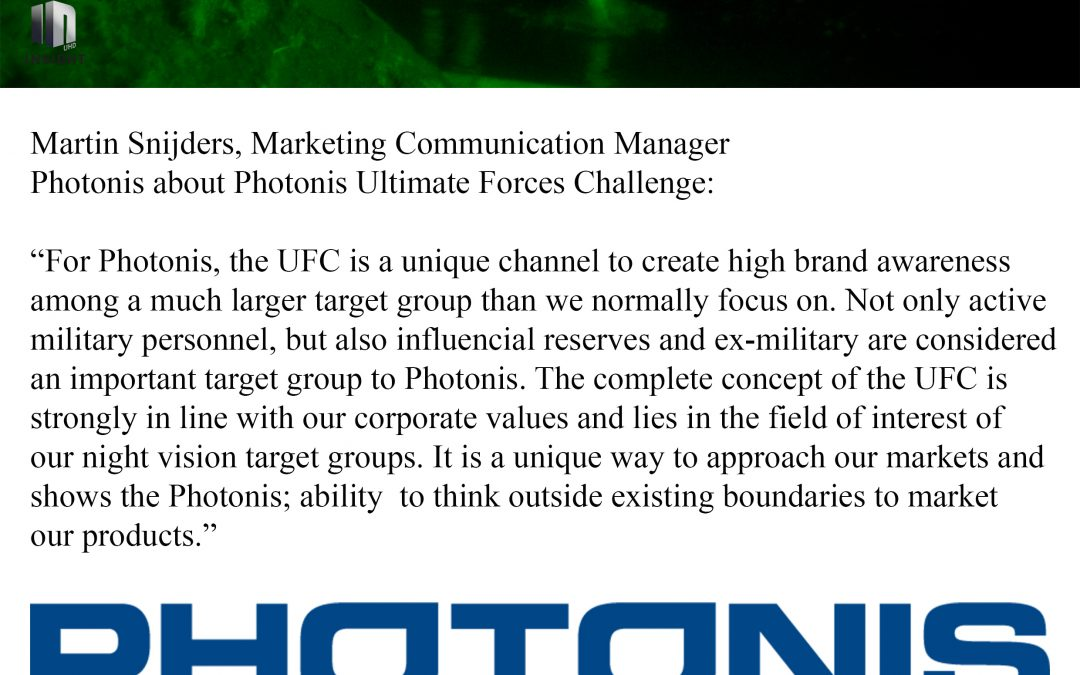 UFC is a unique channel to create high brand awareness