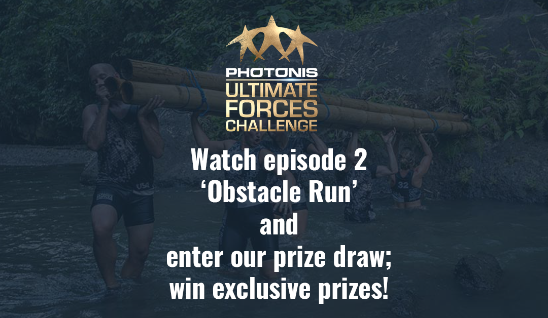 Prize draw; episode 2 'Obstacle Run'