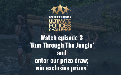 Prize draw; episode 3 'Run Through The Jungle'