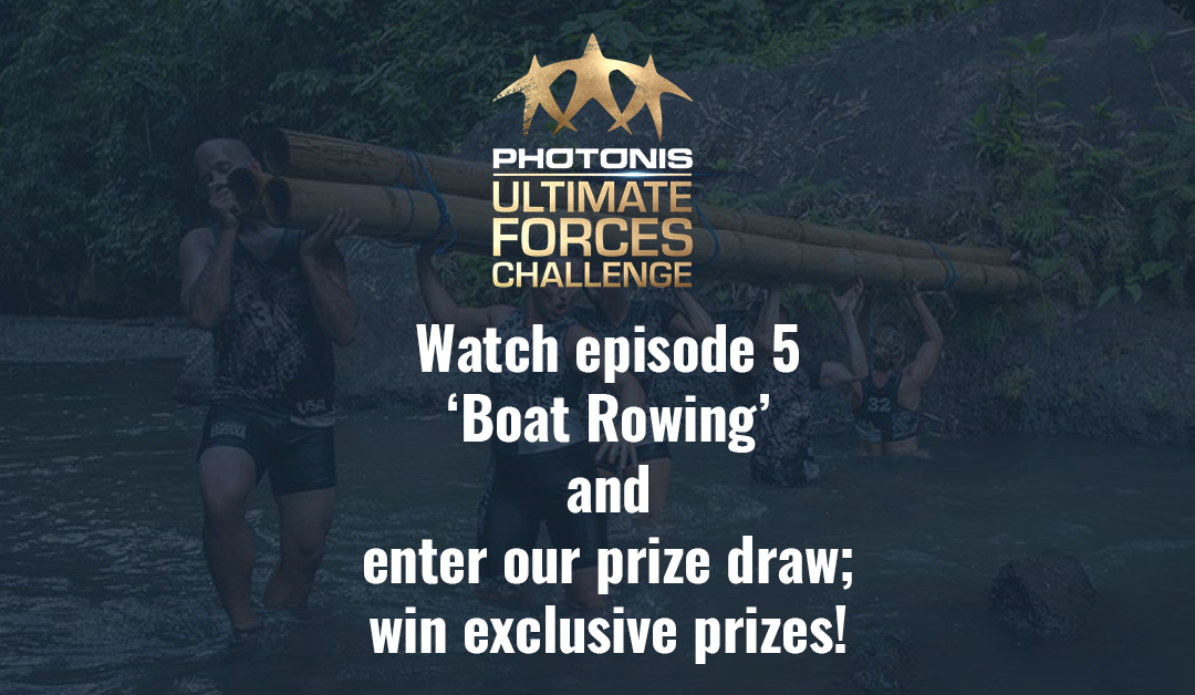 Prize draw; episode 5 'Boat Rowing'