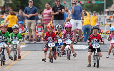 Kids' Strider Balance Bike World Championship in SLC