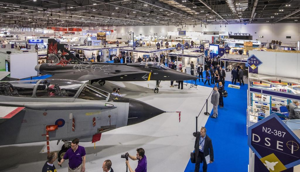 UFC receives invitation for DSEI 2019