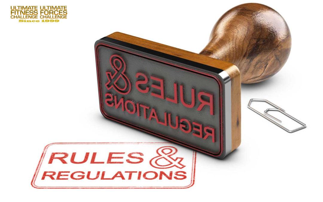 New UFC Rules & Regulations.