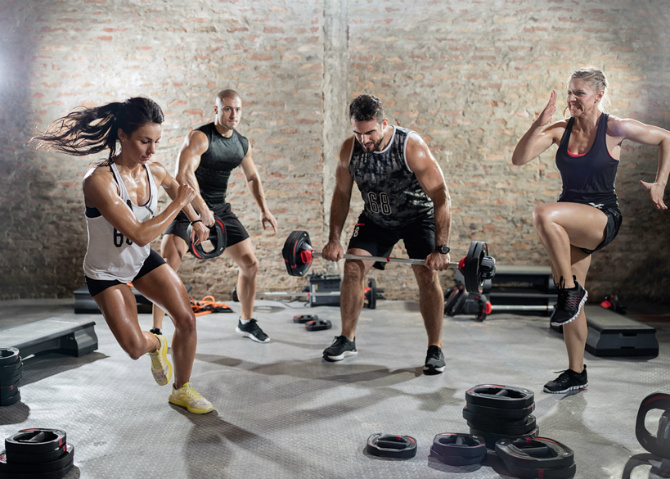 This 4-Move Intense HIIT Workout Will Totally Make You Sweat