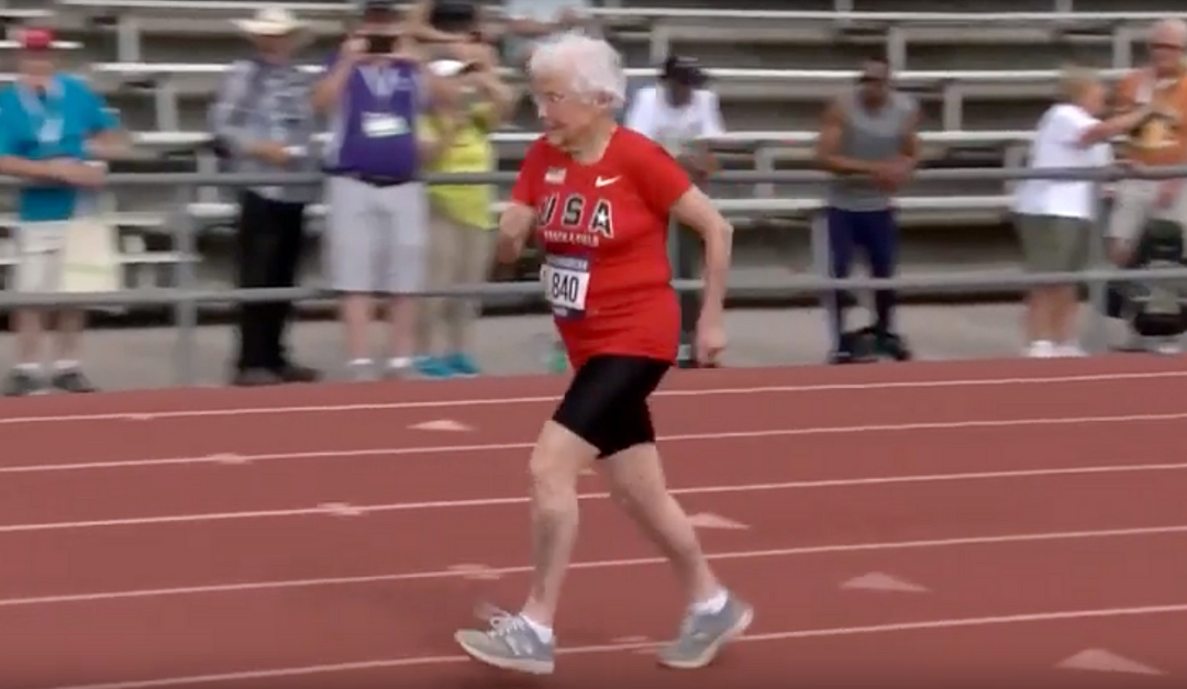She's 103 and Just Ran the 100-Meter Dash. Her Life Advice? 'Look for Magic Moments'