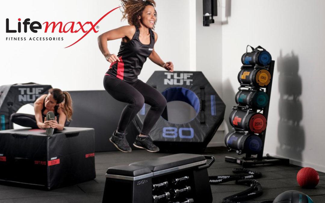 LifeMaxx 3-in-1 gym workout training bench