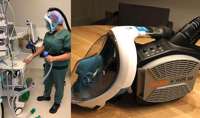 Damen Shipyards Develops AIR-WAVE PROTECTOR SNORKEL MASK – USEFUL IN THE TREATMENT OF CORONAVIRUS